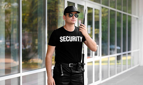 Unarmed guards Los Angeles