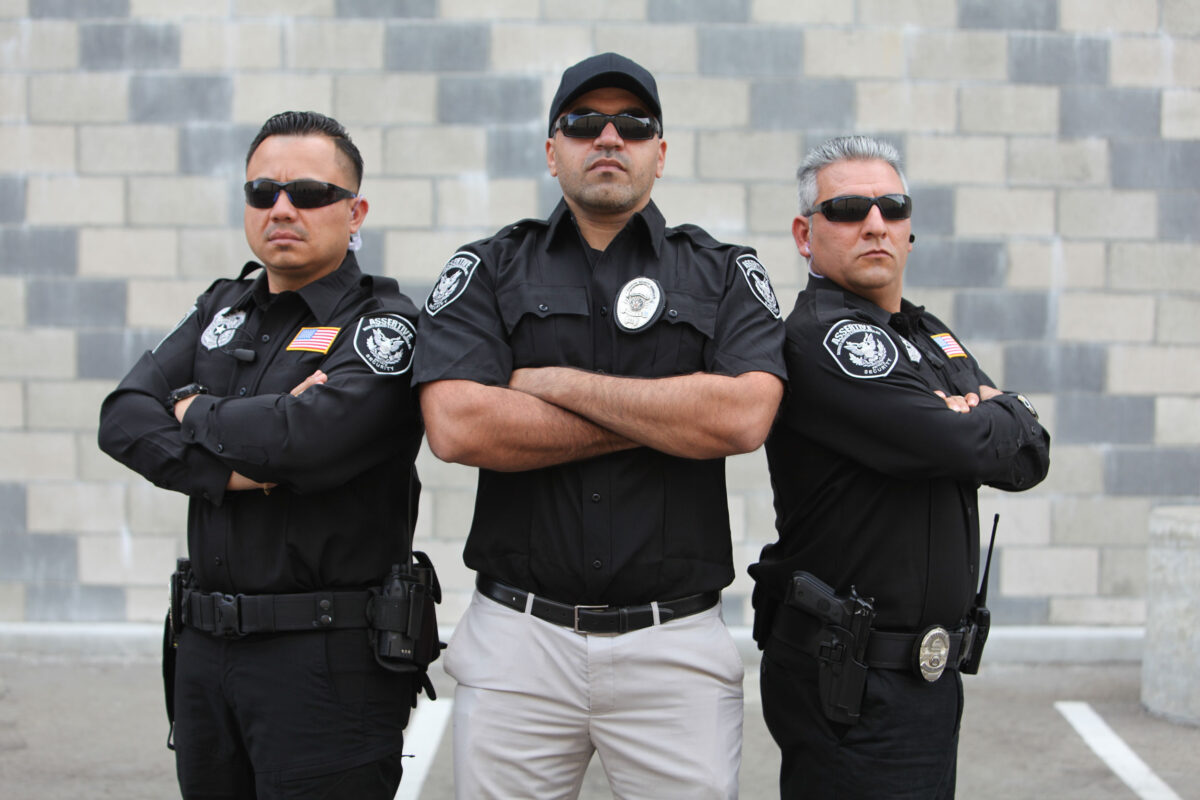 Highly Trained Security Officers